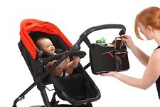 UNIVERSAL BABY STORAGE BAG with PHONE SECTIONS for BUGGY PRAM STROLLER PUSHCHAIR