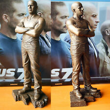 1/6 Fast & Furious 7 Bronze Statue Comic Dominic Toretto Display Figure Action