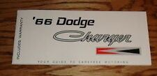 1966 Dodge Charger Owners Operators Manual 66