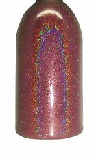 Rose Pink Holographic .004 True Ultra Fine Nail Glitter Art Dust DIY Polish!