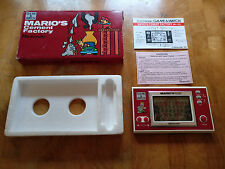 NINTENDO 1983 GAME AND WATCH ***MARIO CEMENT FACTORY!!*** ML-102