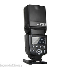 Flash Speedlite Speedlight Wansen ws-560 Para Nikon Canon Olympus Pentax Flash