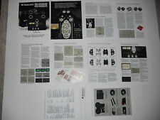Technics RS-1500 1506 Open Reel USA Brochure 10 pages, Specs, Info, Articles