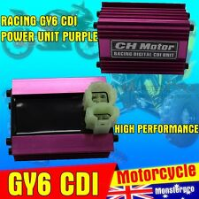 HIGH PERFORMANCE RACING GY6 SCOOTER DIGITAL CDI POWER REV KITACO UNIT PURPLE TDR