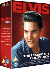 ELVIS PRESLEY 7 DVD BOX SET: FOLLOW THAT DREAM KID GALAHAD CLAMBAKE FLAMING STAR