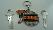 New Mopar, 50th Anniversary HEMI Key Tag With 2 NOS Mopar Keys.