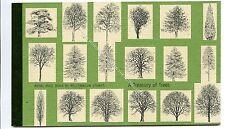 (Ga3461-465) 2000 Prestige Booklet - A Treasury of Trees - DX26 MINT