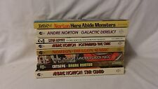8 Andre Norton Books - Vintage - Includes Cat's Eye, Star Guard, Star Ka'at, Pos