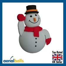 Cute Snowman Car Aerial Ball Antenna Topper