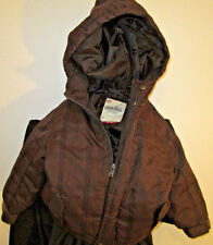 Timberland Co Brown and Black Plaid Parka Toddler 18M With Hood