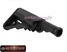 D-BOYS SOPMOD MOD Crane Stock w/ Buffer Tube for Airsoft New Version BLACK