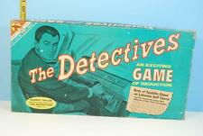 The Detectives TV Game:  Exciting Game of Deduction - Transogram 1961
