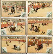 Chromo Liebig Sang. 287 ITA La Corsa dei Tori ANNO 1890