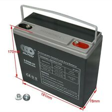 NEW 12V 24AH Sealed Lead-Acid Battery AGM 6-DZM-20 Electric scooter bike