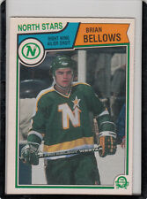 1983/84 O-Pee-Chee Hockey Card #167 Brian Bellows RC - NrMt-Mint