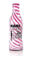 Karl Lagerfeld Diet Coke Bottle 2011 UK Limited Edition Coca Cola No. 2 (Stripe)