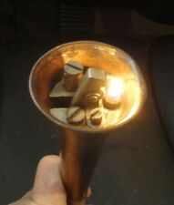 RARE ANTIQUE ALFORD DUNHILL HUNTING HORN TABLE LIGHTER COPPER SILVER NO RESERVE