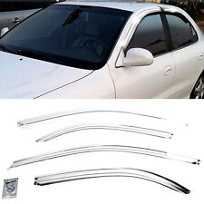 Promotion Chrome Window Sun Vent Visor Rain Guards For HYUNDAI 1996-2001 Elantra