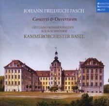 J. SCHRÖDER/G. SOMMERHALDER - FASCH-CONCERTI & OUVERTÜREN  CD  19 TRACKS  NEU