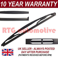 "FOR TOYOTA YARIS MK1 FRENCH 2001-05 HATCHBACK 12"" REAR WINDSCREEN WIPER BLADE"