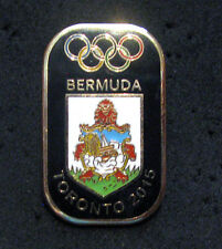 TORONTO 2015 Pan Am Olympic Games LIMITED BERMUDA team pin