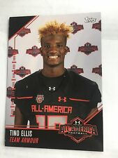 Tino Ellis 2016 Topps Under Armour All America Football Card Maryland Terps