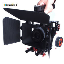 Commlite ComStar K5 Video Support +Follow Focus + Matte Box f  Micro M4/3 Camera