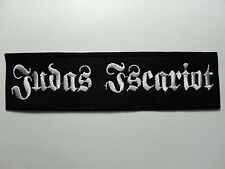 JUDAS ISCARIOT  EMBROIDERED PATCH