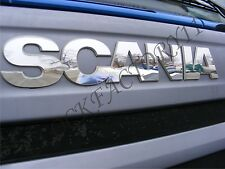 SCANIA Front Sign for all series 2010-2016 years Made Of Mirror Stainless Steel