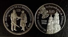 4 oz RARE SET 1810-2010 MEXICO Bicentennial de la Independencia SILVER PROOFS