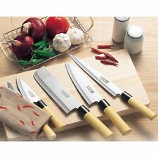 New Japanese Kitchen Chef's Knife Knives 5 set Sushi Yanagiba Sashimi Japan