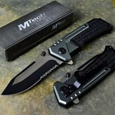 MTECH XTREME Ballistic TACTICAL Grey SPRING ASSISTED Open Folding Pocket Knife