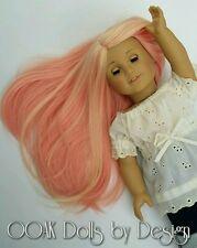Pink Lemonade American Girl Doll Wig