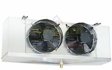 Low Profile Walk-In Cooler Evaporator 2 Fans Blower 10,400 BTU / 1,400 CFM, 115V