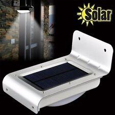 24 LED Energía Solar Lámpara Exterior Sensor de movimiento PIR Luz De Seguridad