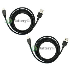 2 USB Charger Data Sync Cable for TomTom XXL 540 540S 540TM 550 550S 550T 550TM