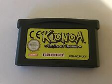 Klonoa Imperio de sueños para Nintendo GameBoy Advance -- Rápido Post