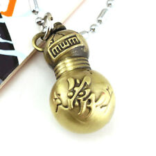 Anime Naruto Sabaku no Gaara Gourd Bag Pendant Alloy Necklace Chain Cosplay Gift
