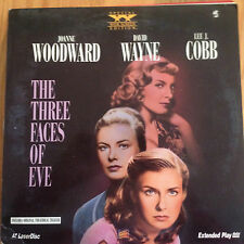 THE THREE FACES OF EVE Widescreen PLAY Laserdisc 1413-85
