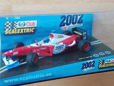 Scalextric REF. 6105 F1 Scalextric Club 2002 Edición Especial SCX