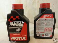 olio motore 2/4 tempi 10W30  MOTUL TRANSOIL moto API GL-4  CAMBIO  FRIZIONI