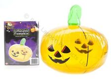 34cm Scary Halloween Inflatable Pumpkin Trick Or Treat Decoration Party