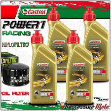 KIT TAGLIANDO OLIO CASTROL POWER 1 RACING 5w40 +FILTO HIFLO BMW R1200 GS 2009