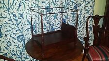 "The Bombay Company 4 Poster Canopy Doll Bed Fits 18"" Dolls American Girl"