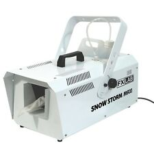FXLab Snow Storm Maxi Machine Fluid 1200w High Power + Wireless Remote Disco DJ