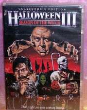 NEW SCREAM FACTORY HALLOWEEN 3 III SEASON OF THE WITCH COLLECTOR'S EDITION DVD
