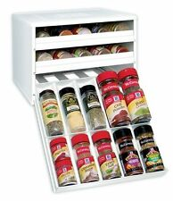 New Kitchen Storage Stack Organizer Spice Bottle Rack Cabinet Holder Pantry