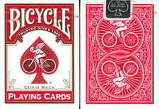 BICYCLE CUPID BACK PLAYING CARDS in RED