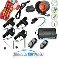 REMOTE CENTRAL LOCKING CAR ALARM & IMMOBILISER