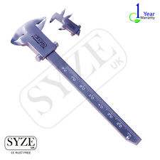 SYZE Barron Vernier Caliper Double sided Gauge Dental Surgical Instruments CE UK